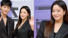 Sao Hàn Kim Hee Sun khoe nhan sắc U45 trẻ trung, rạng rỡ