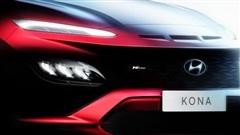 Hé lộ thiết kế Hyundai Kona 2021: Đầu xe điệu đà hơn, bản hiệu suất cao hầm hố kiểu Lamborghini Urus