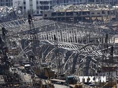 Vụ nổ ở Beirut: Thu dọn lượng vật liệu tương đương với tháp Eiffel