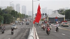 Cận cảnh cầu vượt hơn 500 tỉ đồng mới thông xe ở Hà Nội