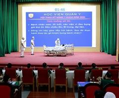 Học viện Quân y tổ chức Hội thao Kỹ năng y khoa năm 2020