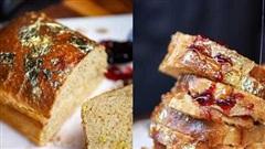 Cận cảnh món bánh mỳ bơ hơn 8 triệu đồng