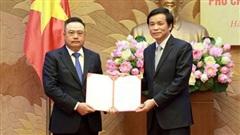 Tiếp nhận, bổ nhiệm ông Trần Sỹ Thanh giữ chức vụ Phó Chủ nhiệm Văn phòng Quốc hội