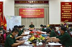 Đoàn công tác Bộ Quốc phòng làm việc tại Quân khu 9