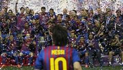 [ẢNH] Khoảnh khắc đáng nhớ của siêu sao Lionel Messi tại Barcelona