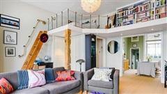 Những căn hộ nhỏ có thiết kế gác lửng thông minh chỉ nhìn thôi cũng đủ mê một đời