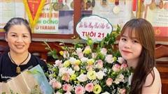 Huỳnh Anh khoe được mẹ Quang Hải tặng hoa mừng sinh nhật, khẳng định mối quan hệ cực tốt với bạn trai