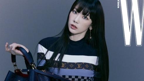 Taeyeon sang chảnh trên tạp chí với thiết kế của Louis Vuitton