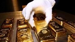 Giá vàng giao dịch dưới ngưỡng 57 triệu đồng/lượng