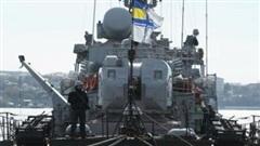 Ukraine và Romania tập trận Riverine 2020