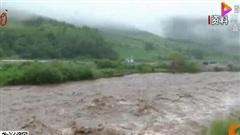 Lũ xuất hiện trên hàng loạt con sông ở Trung Quốc