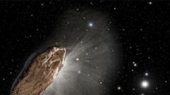 Bí ẩn của 'Oumuamua