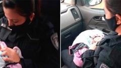 Bé gái sơ sinh Argentina bị bỏ rơi với con dao trên lưng