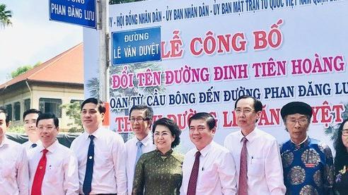 TP HCM: Chính thức có tên đường Lê Văn Duyệt cạnh Lăng Ông