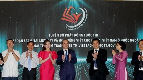 Đẩy mạnh việc dậy và học tiếng Việt cho người Việt ở nước ngoài