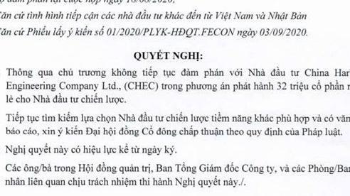 DN Việt quyết dừng đàm phán nhận vốn đầu tư từ tập đoàn Trung Quốc