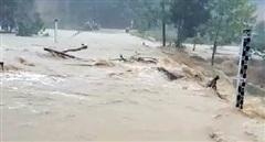 Mưa lũ gây chia cắt, sạt lở nhiều tuyến đường ở miền núi Quảng Nam