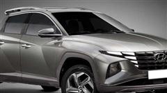 Bán tải Hyundai cạnh tranh Ford Ranger mượn thiết kế Tucson đời mới sẽ như thế này...