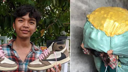 Thanh niên dành tiền bốc vác suốt 2 năm để sắm giày hiệu, dân mạng soi điểm 'giả tạo'