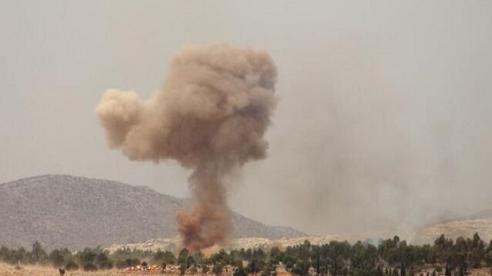 Máy bay phản lực Nga 'dội bão lửa' vào cứ điểm khủng bố ở Syria