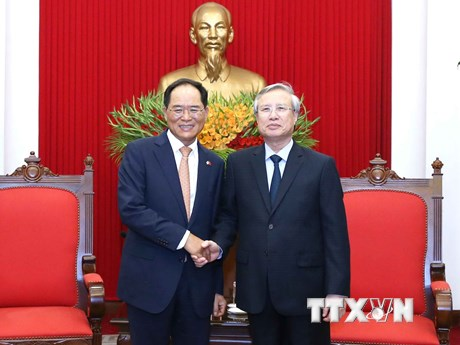 Việt Nam-Hàn Quốc thúc đẩy quan hệ song phương trong tình hình mới