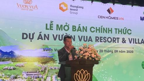 Dự án Vườn Vua Resort & Villas tại Phú Thọ: 66 căn biệt thự đã có chủ ngay trong ngày mở bán