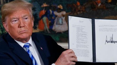 Tung đòn hiểm bủa vây Iran, ông Trump gây sức ép tối đa vì một mục đích 'không thể rõ ràng hơn'