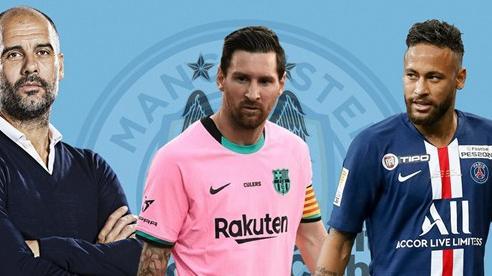 Man City đánh lớn, chiêu mộ Messi lẫn Neymar