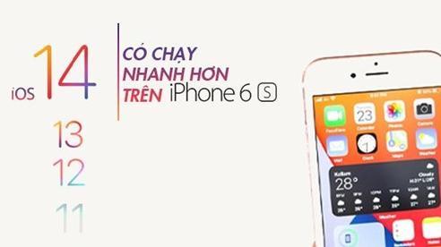 Nâng cấp iOS 14 có làm iPhone cũ chậm đi? - Kết quả thật sự bất ngờ!