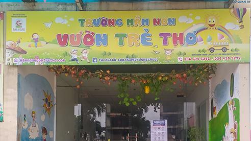 Vụ trẻ mầm non bị ngã gãy tay ở Hà Nội: Gia đình mời luật sư, chủ trường nói 'cố gắng làm hết trách nhiệm'