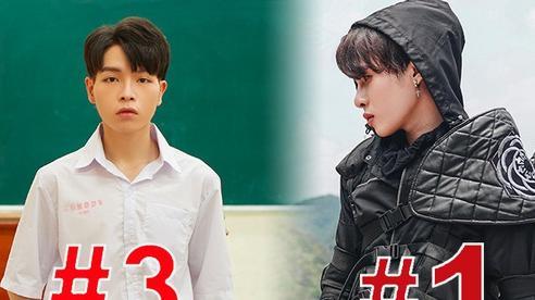 Hoài Lâm bất ngờ thăng hạng trên HOT14, Jack mòn mỏi chờ Đức Phúc ở top trending nhưng vẫn bị 'cản đường' bởi Rap Việt