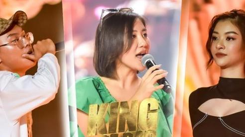 VY Jacko 'đứng hình 5s' vì đấu loại với Kiều Loan, Văn Mai Hương 'tung chiêu' giúp sàn đấu King Of Rap thêm rực lửa