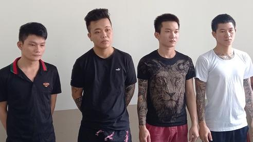 Bắt chẹt tiểu thương chợ Long Hải, nhóm 9X xăm trổ lộng hành thu tiền bảo kê
