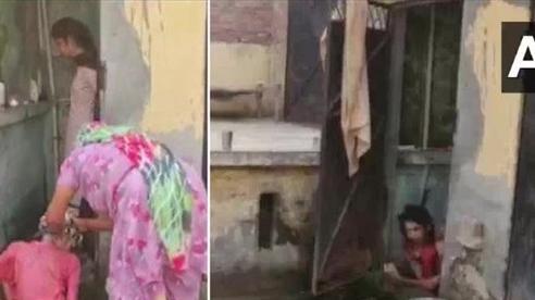Ấn Độ giải cứu người phụ nữ bị chồng nhốt trong nhà vệ sinh suốt 18 tháng