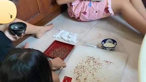 Chuyện Tấm Cám thời 4.0: Tạo 'công ăn việc làm' cho trẻ bằng cách lựa hạt gạo để cai nghiện điện thoại khiến dân mạng cũng phải 'ngả mũ'