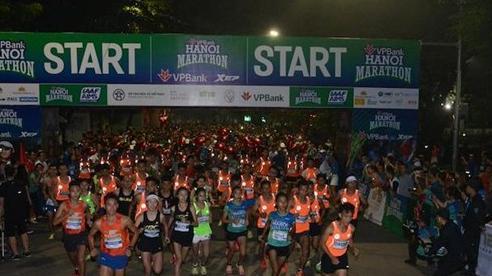 Giải VPBank Hà Nội Marathon ASEAN 2020 truyền thông điệp an toàn tại Việt Nam
