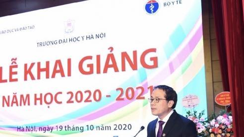 Trường Đại học Y Hà Nội khai giảng năm học 2020-2021