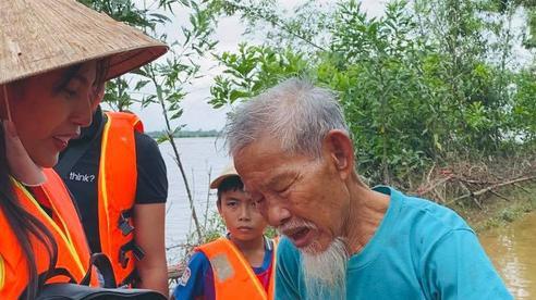 Phát hiện kẻ ăn chặn tiền cứu trợ, Thuỷ Tiên có hành động mạnh mẽ