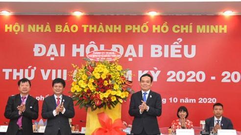 Ông Trần Trọng Dũng tái đắc cử Chủ tịch Hội Nhà báo TP.HCM