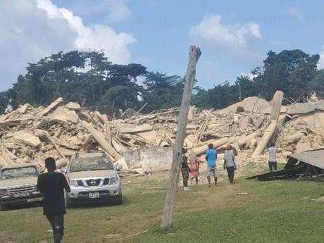 Sập nhà thờ tại Ghana khiến ít nhất 18 người thiệt mạng
