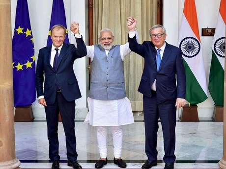 Ấn Độ-EU tham vấn an ninh, đẩy mạnh quan hệ hợp tác song phương