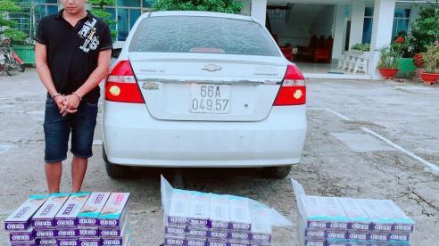 Thu giữ gần 1.500 bao thuốc lá nhập lậu
