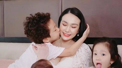 Hương baby chia sẻ cách chăm sóc ca sỹ Tuấn Hưng và 3 con