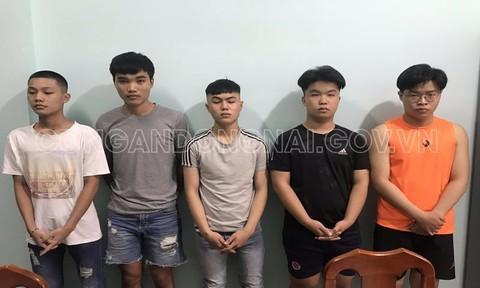 Bắt nhóm thanh niên ẩu đả trong quán nhậu khiến 1 người bị đâm tử vong