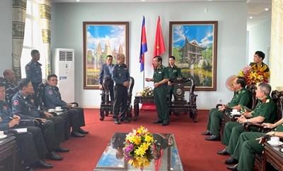 Tăng cường hợp tác quốc phòng giữa Bộ đội biên phòng Việt Nam và lực lượng Hiến binh, Quân đội Hoàng gia Campuchia