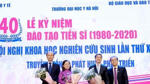 40 năm qua có 1.140 tiến sĩ 'made in' Trường Y Đại học Y Hà Nội