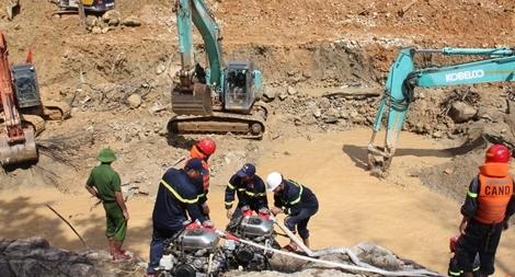Tạm dừng công tác tìm kiếm nạn nhân mất tích tại Rào Trăng