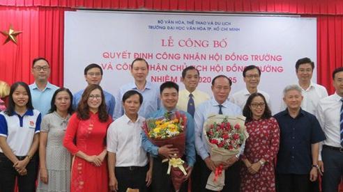 PGS.TS. Lâm Nhân được bầu làm Chủ tịch Hội đồng trường Trường Đại học Văn hóa TP.HCM