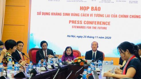 Việt Nam thuộc nhóm nước kháng kháng sinh cao