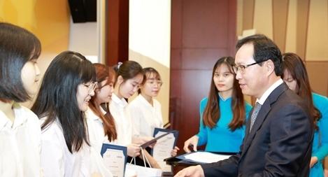 Gần 700.000 USD phát triển chuyên ngành tiếng Hàn tại Việt Nam